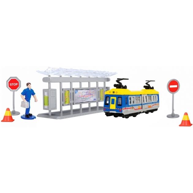 Игровой набор Dickie Трамвайная остановка 3343001