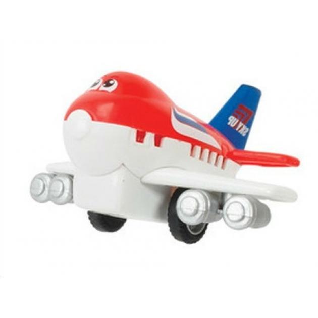 Веселый детский самолет Dickie инерционный в цвете флага России 3345475