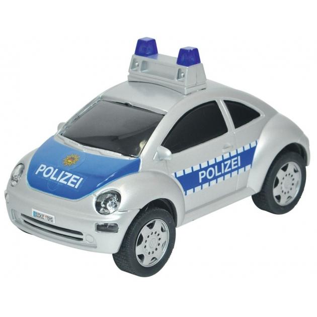 Полицейская машинка Dickie Volkswagen фрикционная со звуком сирены 3353145