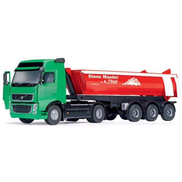 Игрушка Самосвал Dickie тягач с прицепом зеленый 3414330
