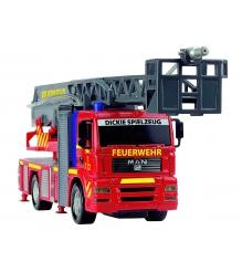 Пожарная машина Dickie с водой мигалкой и сиреной 31 см 3443993