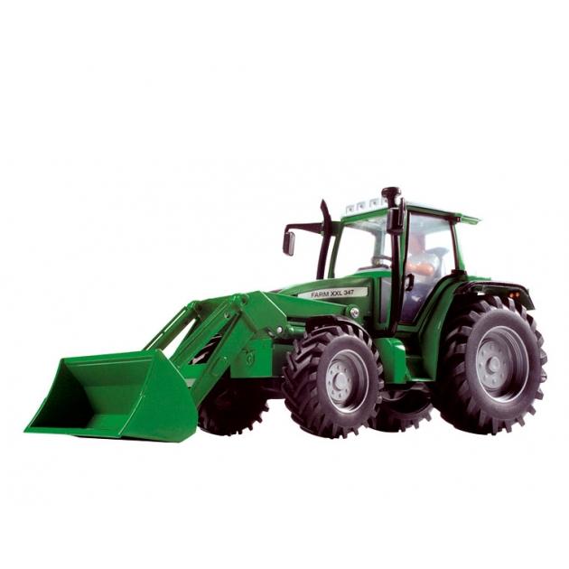 Трактор Dickie Зелёный 3474600