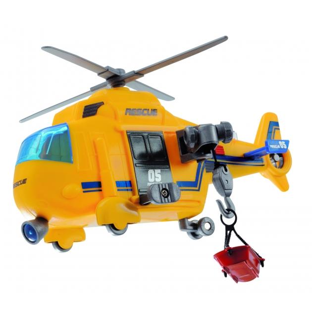Игрушка вертолет Dickie 18 см функциональный со светом и звуком 3563573