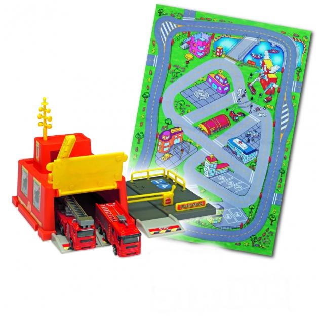 Игровой набор Коврик и спасательная станция Dickie Fire Station 3608104