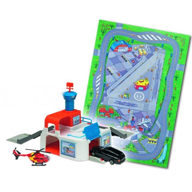 Игровой набор Коврик и спасательная станция Dickie Airport 3608104