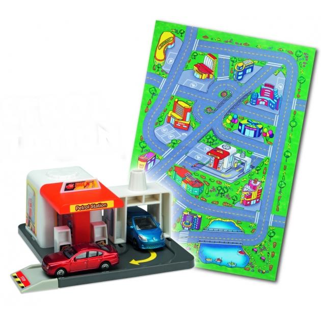 Игровой набор Коврик и спасательная станция Dickie Petrol Station 3608104