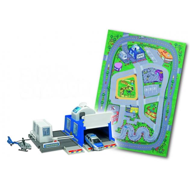 Игровой набор Коврик и спасательная станция Dickie SOS Station 3608104
