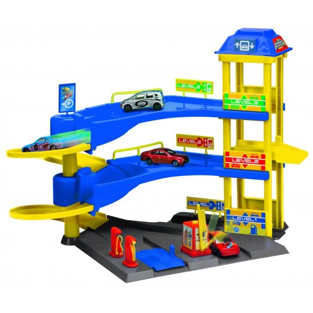 Игровой набор для машинок парковочная станция Dickie 3608351