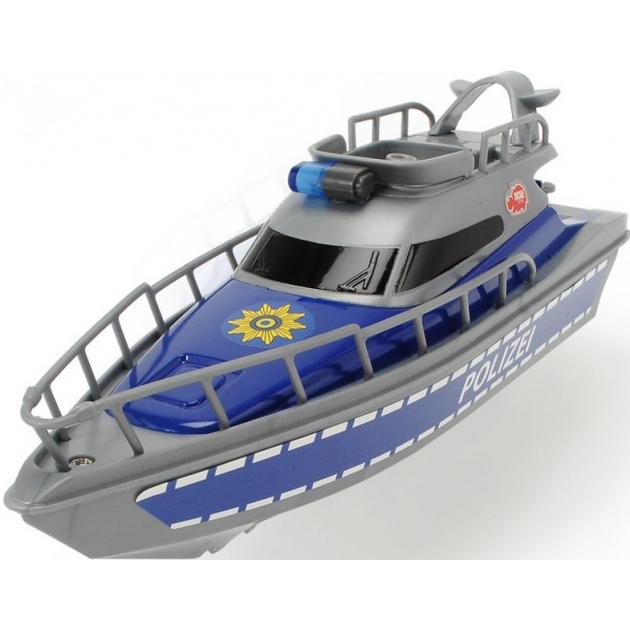 Полицейская лодка Dickie 23 см 3714004
