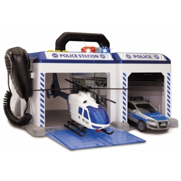 Игровой набор Dickie Полицейская станция 3716004