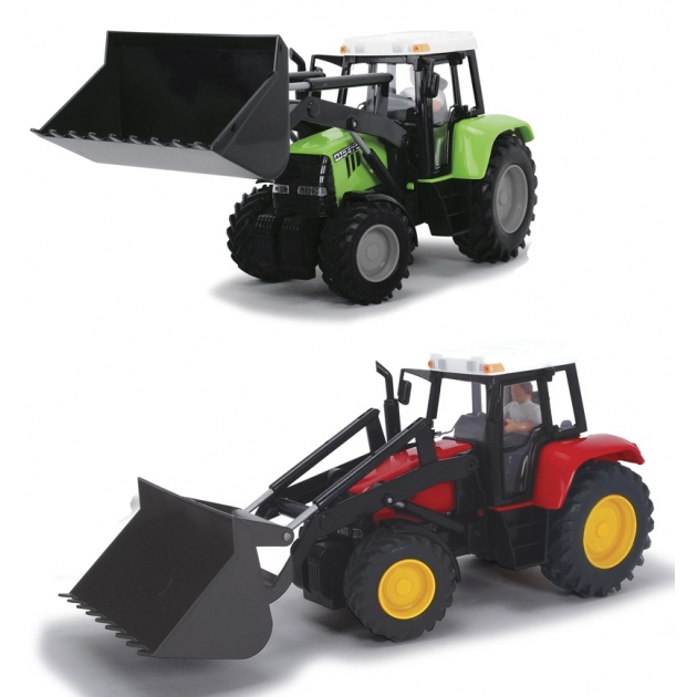 Детский трактор Dickie фрикционный 25 см 3735002