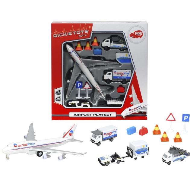 Игровой набор Dickie Аэропорт 3743001