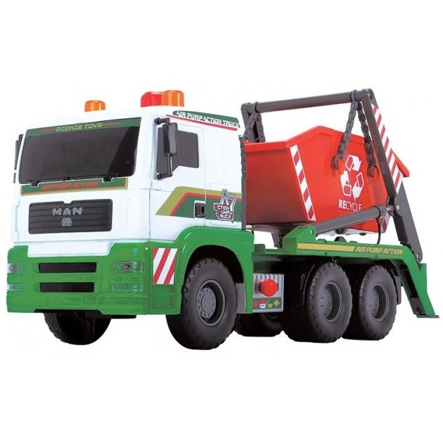 Мусоровоз с большим контейнером AirPump Dickie 3809002