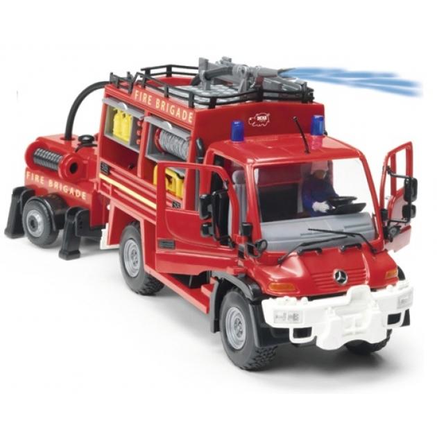 Пожарная машина Dickie с фигурками 34 см 3826000