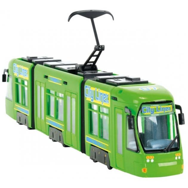 Городской трамвай Dickie 3829000 зеленый