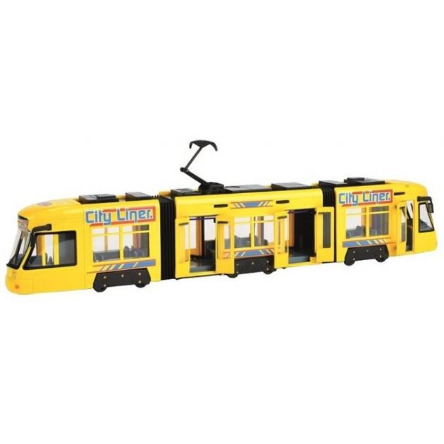 Городской трамвай Dickie 3829000 желтый