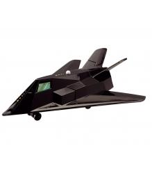 Игрушка Истребитель Dickie Боевой самолет 17 см черный со звуком 3553006...