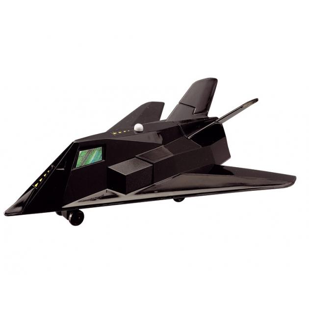 Игрушка Истребитель Dickie Боевой самолет 17 см черный со звуком 3553006