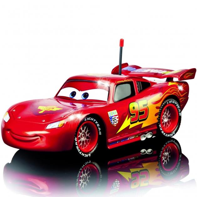 Машина из мультфильма Тачки Dickie Молния МакКуин на радиоуправлении 17 см 3089538
