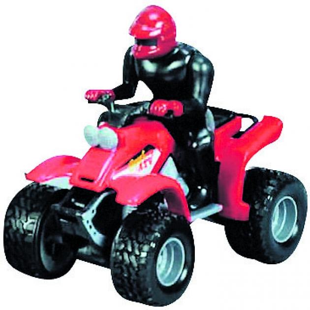Игрушечный квадроцикл Dickie красный 3385218