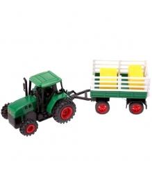 Трактор с прицепом с сеном Dickie Зелёный 3473471