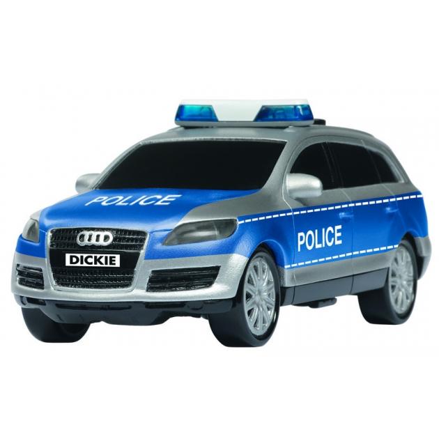 Полицейский внедорожник Dickie Audi Q7 со светом и звуками 3353056