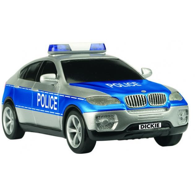 Полицейский внедорожник Dickie BMW X6 со светом и звуками 3353056