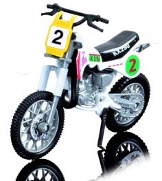 Кроссовый мотоцикл Dickie Белый 3385773...