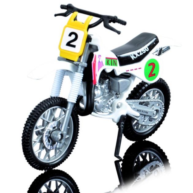 Кроссовый мотоцикл Dickie Белый 3385773