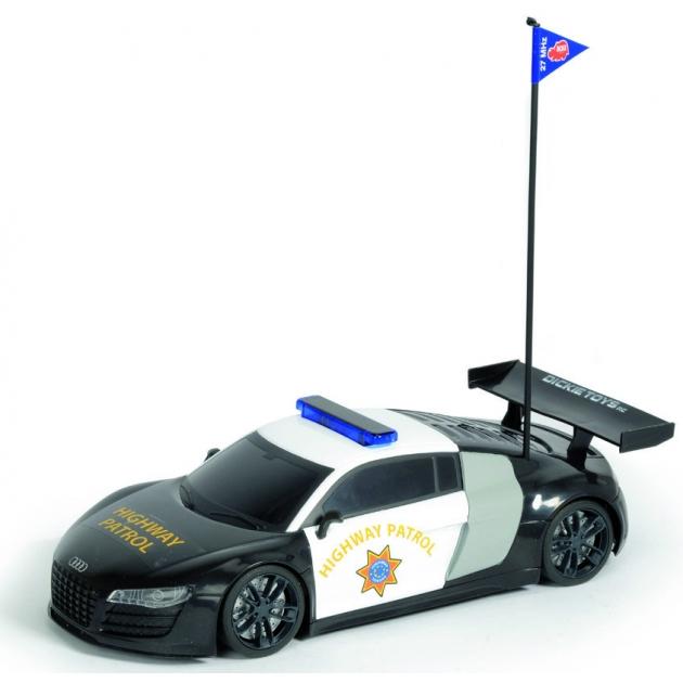 Радиоуправляемая машина Dickie Полицейский патруль Audi R8 28 см 19057