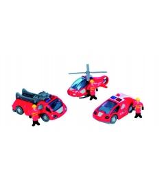 Спасательный набор Dickie красный вертолет 2 машин...
