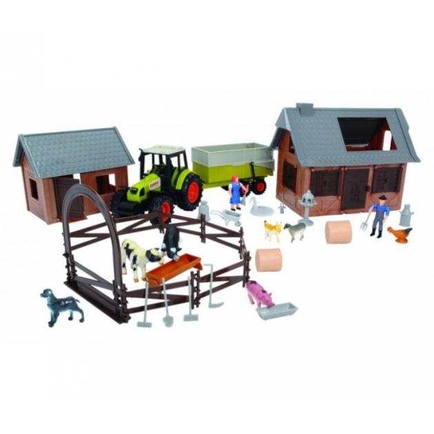 Игровой набор Dickie Ферма с трактором 3608002