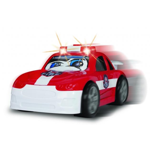 Служба спасения Dickie Веселая машинка со светом и звуком красная 3315244