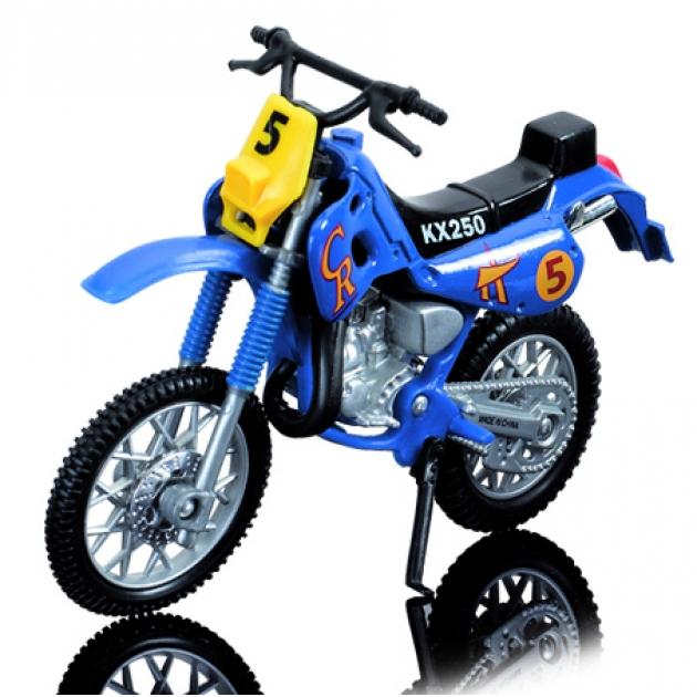 Кроссовый мотоцикл Dickie Синий 3385773