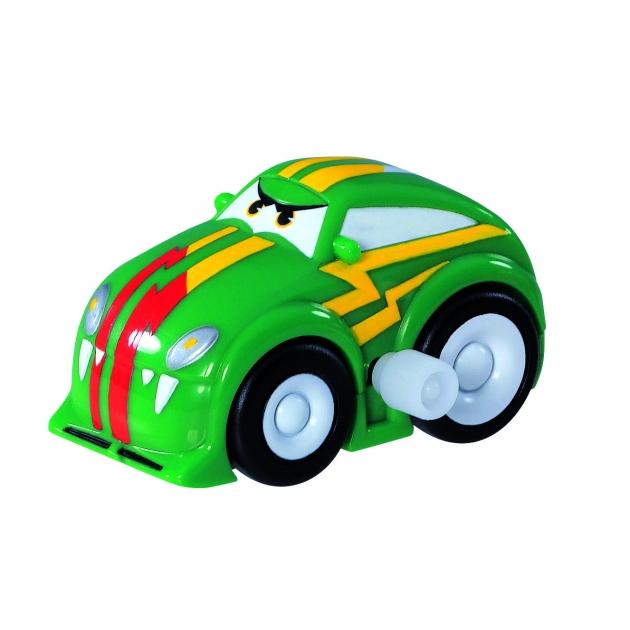 Детская машинка с заводным механизмом Dickie 6 см зеленая 3315157