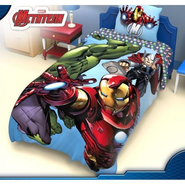 Детское постельное белье Marvel Команда Мстители 1149320