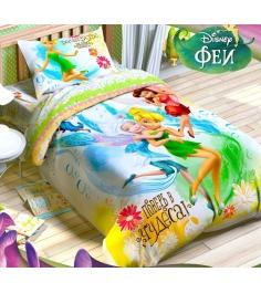 Детское постельное белье Disney Верь в чудеса Феи ...