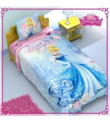 Детское постельное белье Disney Принцессы Золушка 1149312...