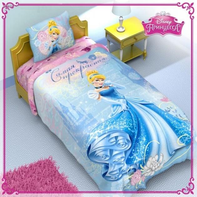 Детское постельное белье Disney Принцессы Золушка 1149312