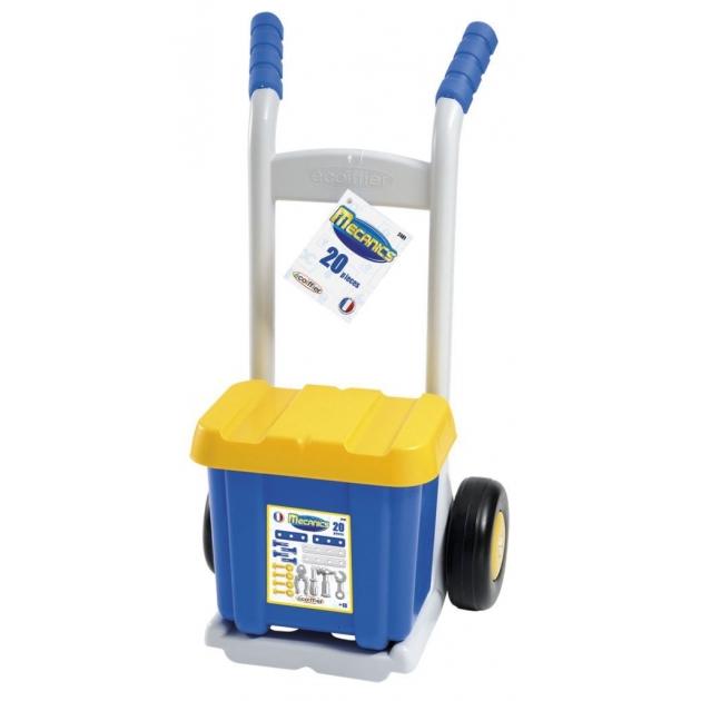 Детская мастерская Тележка с инструментами Ecoiffier 2481