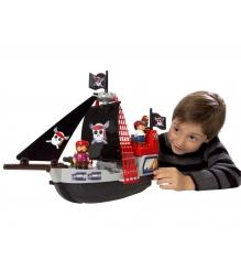 Конструктор Ecoiffier Пиратский корабль 3130