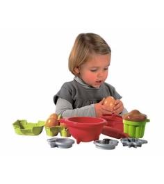 Набор посудки с продуктами Ecoiffier 2617...
