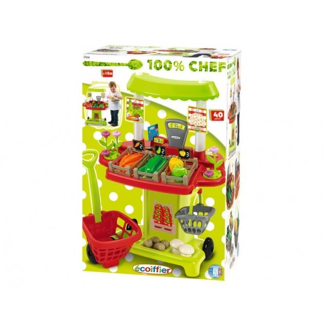 Игрушка для супермаркета Супермаркет овощной 1744 Ecoiffier