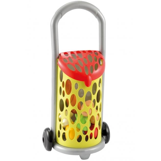 Игрушка для супермаркета Ecoiffier Тележка с продуктами 977