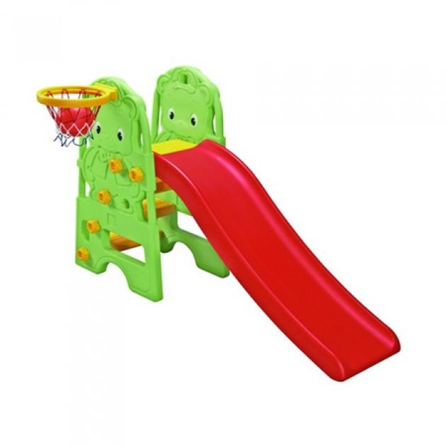 Горка детская пластиковая Edu-Play Медвежонок WJ-314