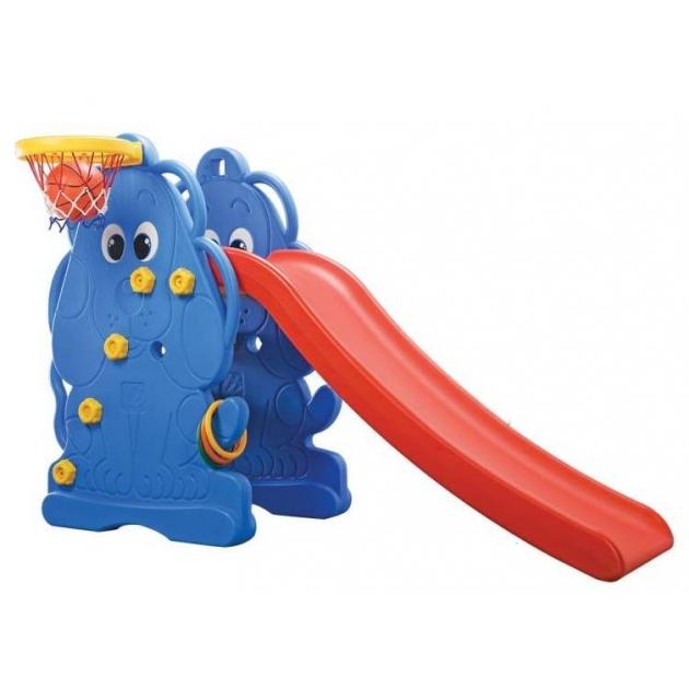 Горка детская пластиковая Edu-Play Щенок 315WJ