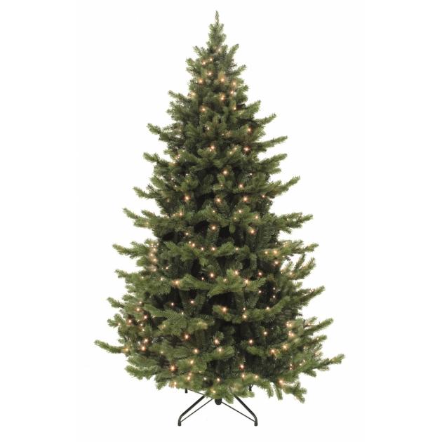 Искусственная ель Триумф Шервуд премиум с огоньками Triumph Tree