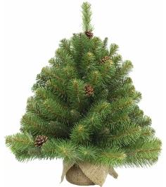 Искусственная елка Triumph Tree Императрица с шишками 90 см в мешочке