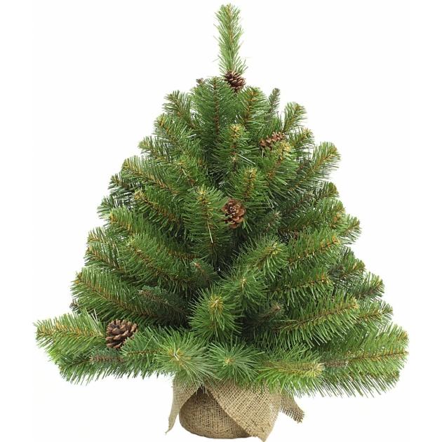 Искусственная ель Триумф Императрица с шишками в мешочке Triumph Tree