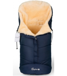 Меховой конверт в коляску Esspero Sleeping Bag натуральная шерсть